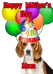image is loading beagle dog happy mother 039 s day party