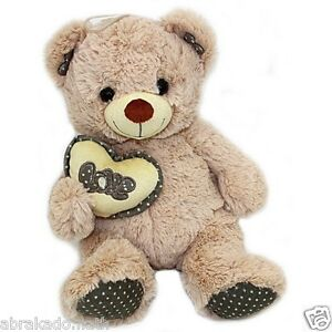 peluche ours coeur love 30 cm doudou - Ours Coeur