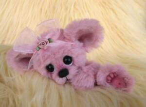 Mishia-Mouse-OOAK-Original-Hand-Sewn-Collectable-Artist-Bear-by-Joxy-Bears
