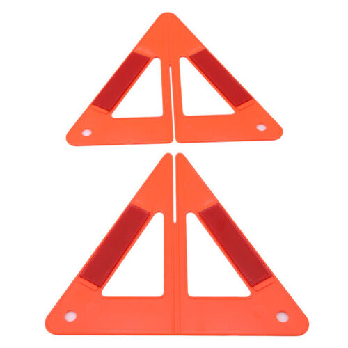 Foldable Warning Triangle Car Emergency Sign Reflective Safety Marked Red QK