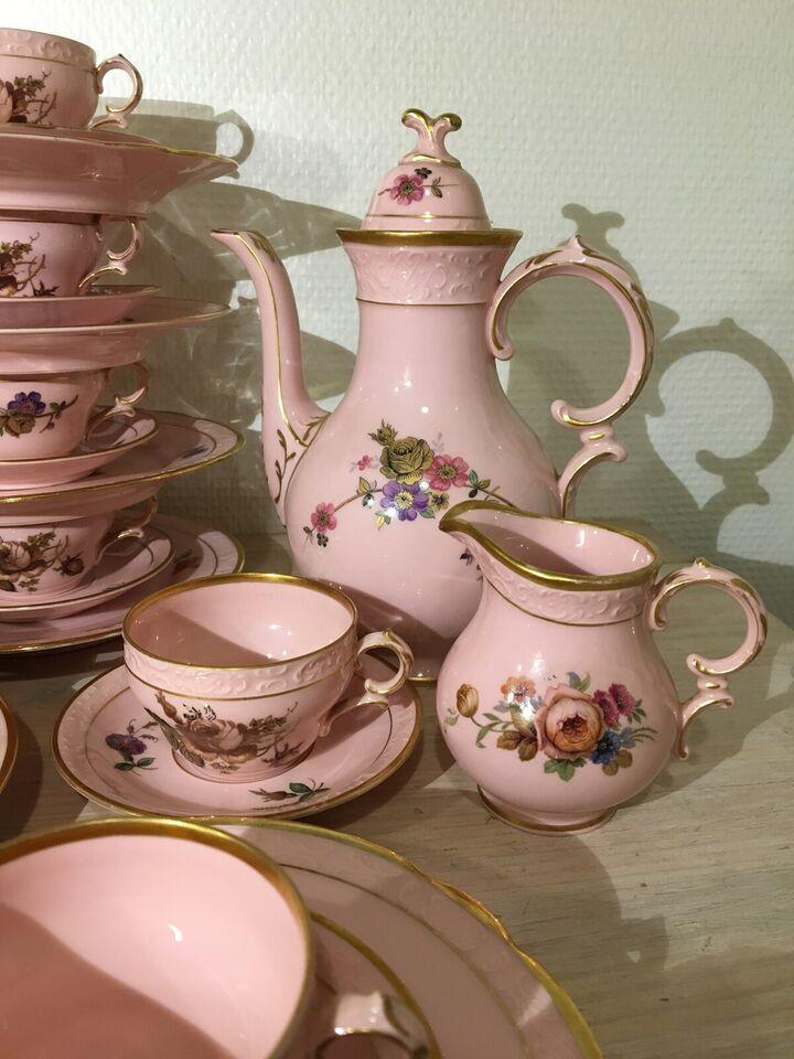 Porcelæn, Rosa moccakopper, Kjøbenhavns