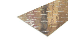 Aluminum Diamond Plate Flat Sheet 062 X 6 X 48 In Uaac