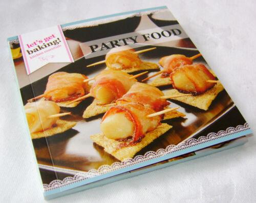 Nouveau parti Nourriture Livre de recettes ensemble cadeau avec piston /& 3 en forme de timbres boxed PMS