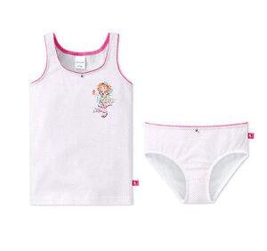 Schiesser Set Garnitur Unterhemd Unterhose Slip Mädchen NEU