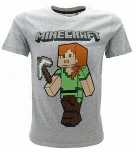 T-Shirt Ragazzo Minecraft