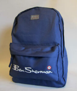 e5d7664a9b Ben Sherman Navy Backpack Sports School Bag Gym College Core ...