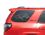 2010-2018 Toyota 4Runner TRD PRO Limited Rear windows TF12 Mountain Decal Set