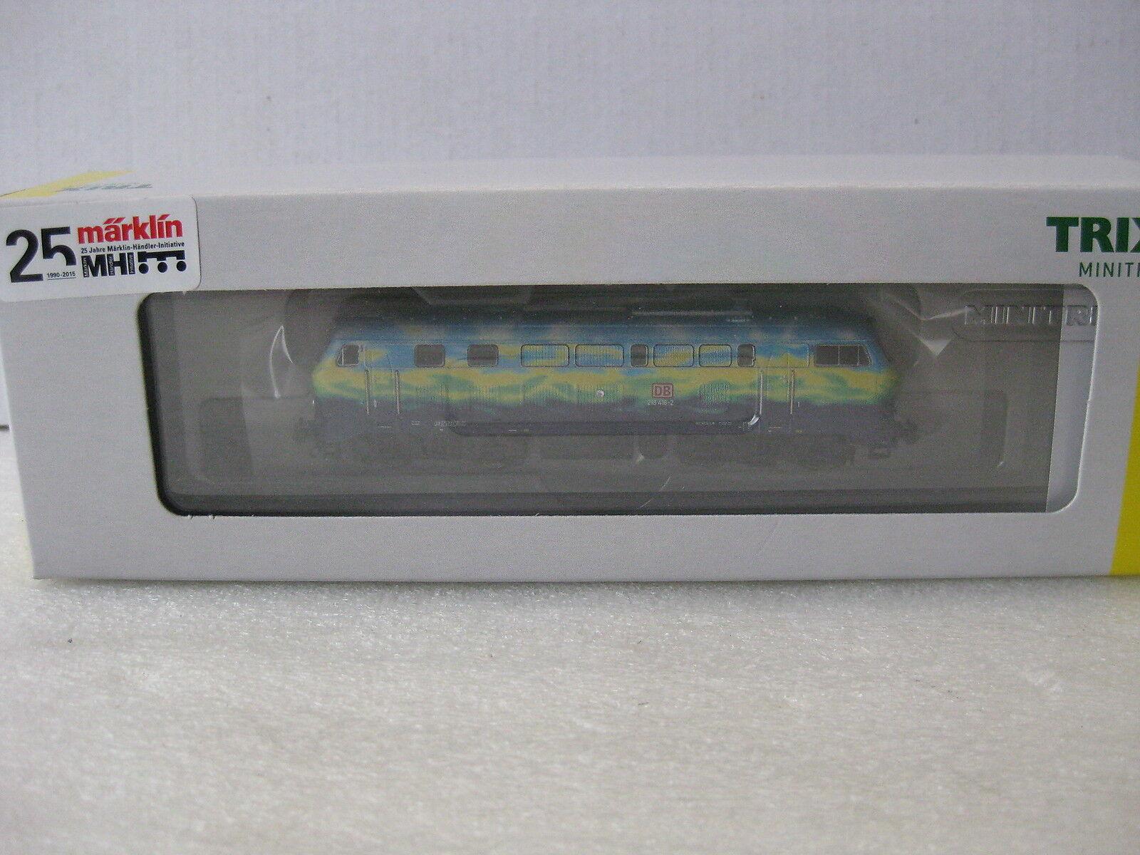 Trix Minitrix t16285 br 218 DB touristikzug DCC SX LED nuevo