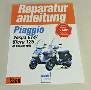 Reparaturanleitung Piaggio Vespa ET4 ab Baujahr 1996 Sfera 125