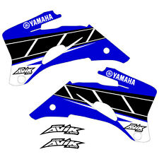 Yamaha Retro Shroud Graphics YZF250 YZF450 2006-2009 Blue