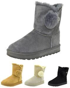 Stivaletti-eschimesi-stivali-donna-con-pelliccia-scarponcini-caldi-scarpe-neve