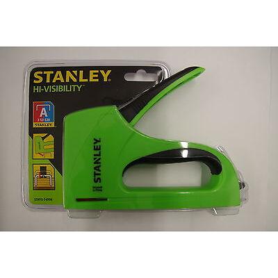 Stanley TR40 Hi Visibility Light Duty Staple Gun Hand Stapler STHT0-74996