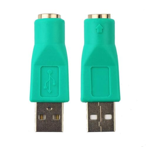 New USB Male To PS2 Female Adapter Converter for Computer PC Keyboard Mouse UP
