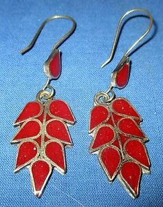 Earrings-Teardrop-Gemstone-Afghan-Kuchi-Tribal-Alpaca-Silver-1-1-2-034-or-2-034
