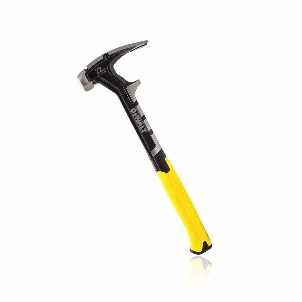 DeWALT DWHT51366 22-Ounce Multi-Functional Rip Claw Long Handle Demo Hammer
