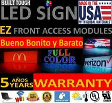 Led Sign 25x75 10mm Red Color Outdoor Programmable Board Made In Usa