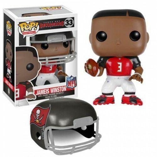 Funko Pop Football 33 NFL Tampa Bay Buccaneers 7559 Jameis Winston