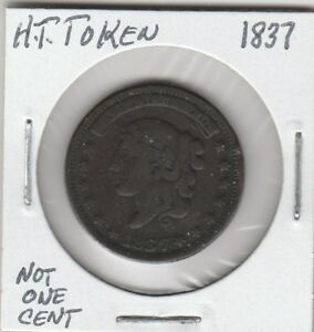 M-Token-Hard-Times-Token-1837-034-Not-One-Cent-034