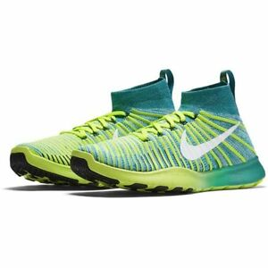 Nike Mens Free TR Force Flyknit Running Shoes (9 D(M) US, Rio Teal)