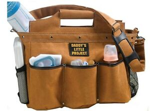 daddy builder diaper bag tool kit bag design baby diaper bag made for dads ebay. Black Bedroom Furniture Sets. Home Design Ideas