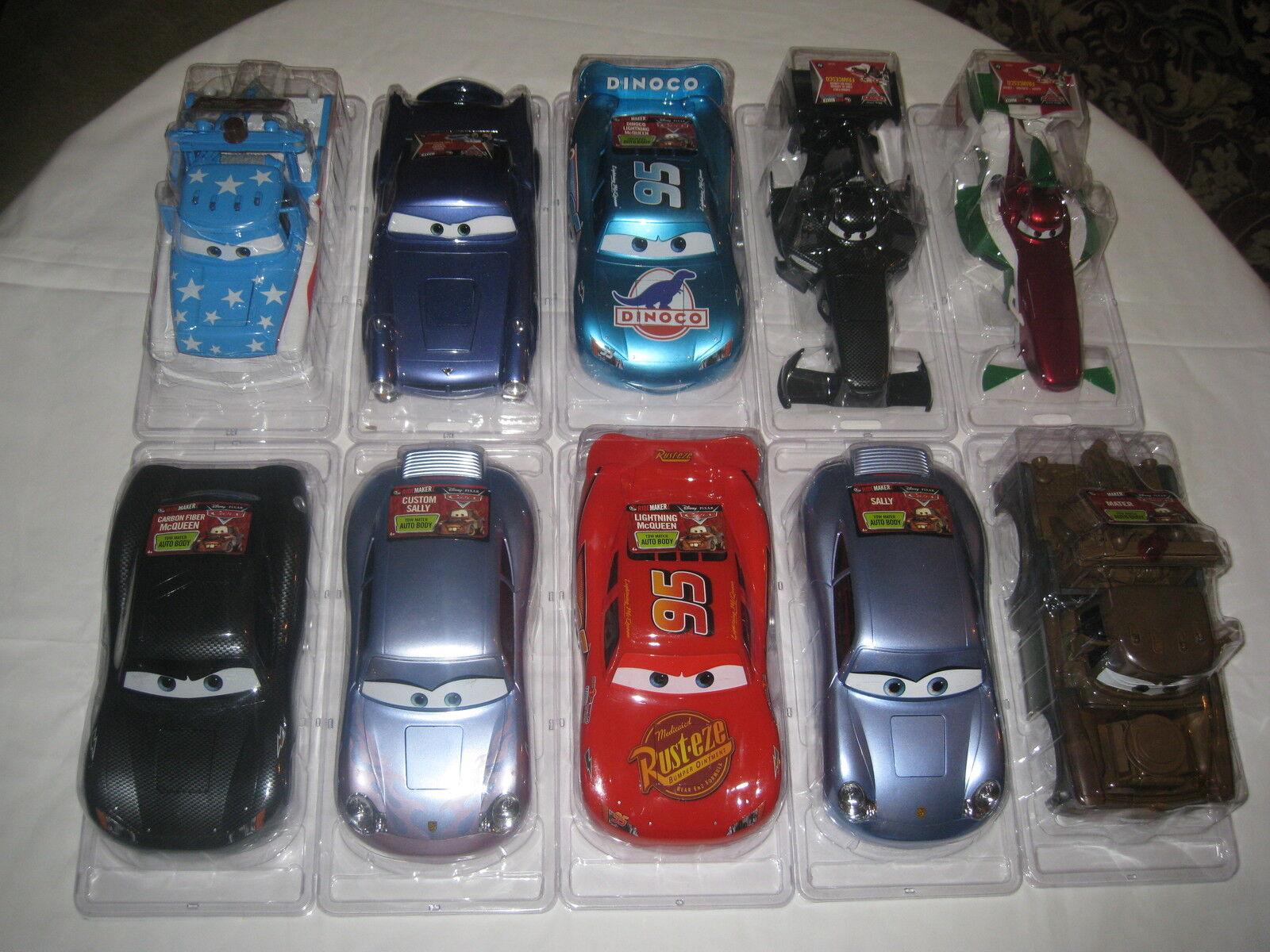 Disney Cars 2 Carbon Fiber Francesco Ridemakerz RC Shell Ridemakers Auto Black