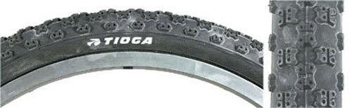 TIOGA COMP 3  BLACK WALL NOS BMX TIRE 20x1 1//8  old school