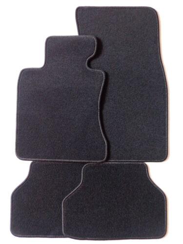 Bmw e60 año 03-2010 aguja fieltro tapices alfombras coche ajuste original