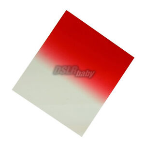 image is loading square gradual red plexiglas color conversation filter for - Plexiglas Color