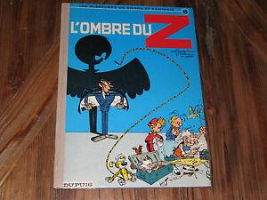 Franquin-Spirou-et-Fantasio-L-039-ombre-du-Z-dos-rond-1974