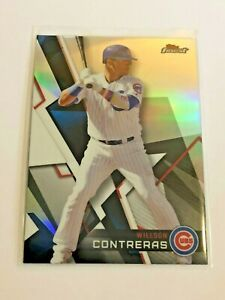 2018-Topps-Finest-Baseball-Refractor-Willson-Contreras-Chicago-Cubs