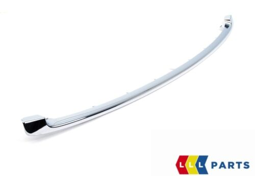 Mini Nuovo Originale R56 R55 R57 R58 Anteriore Paraurti Inferiore Cromo S Jcw