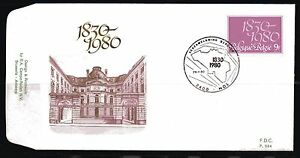 Belgium-obp-1961-150-years-INDEPENDENCE-1980-FDC-MOL