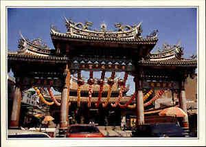 TAIWAN-Postkarte-Postcard-Lukang-Tienho-Temple-Tempel-color-ungelaufen-Asien