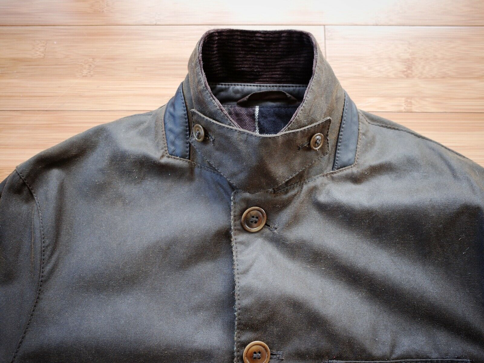 Barbour Dalkeith Wax Jacket – (size Small)  - image 2