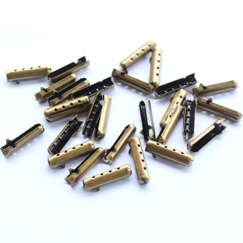 20//60//100//200 PCS Metal Aglets DIY Shoelaces Repair ShoeLace Tips Replacement