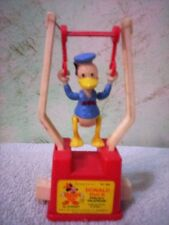 Vintage - Donald Duck Tricky Trapeze - push button acrobat - by Kohner - Hong Ko