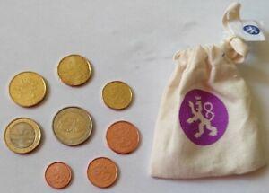 Série FINLANDE 2014 UNC 1cent à 2 euros RARE + 1,2,5 centimes 2006 Saint Marin