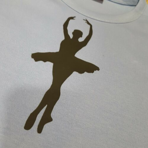 Crossover ballerina Girls Ballet top warm up long sleeve blue Dance RAD ISTD CC