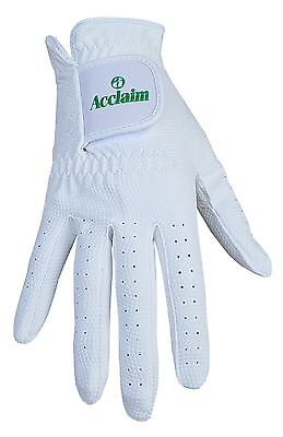 ACCLAIM Bowls Glove Premier All Weather /& Conditions Mens Gents White Synthetic