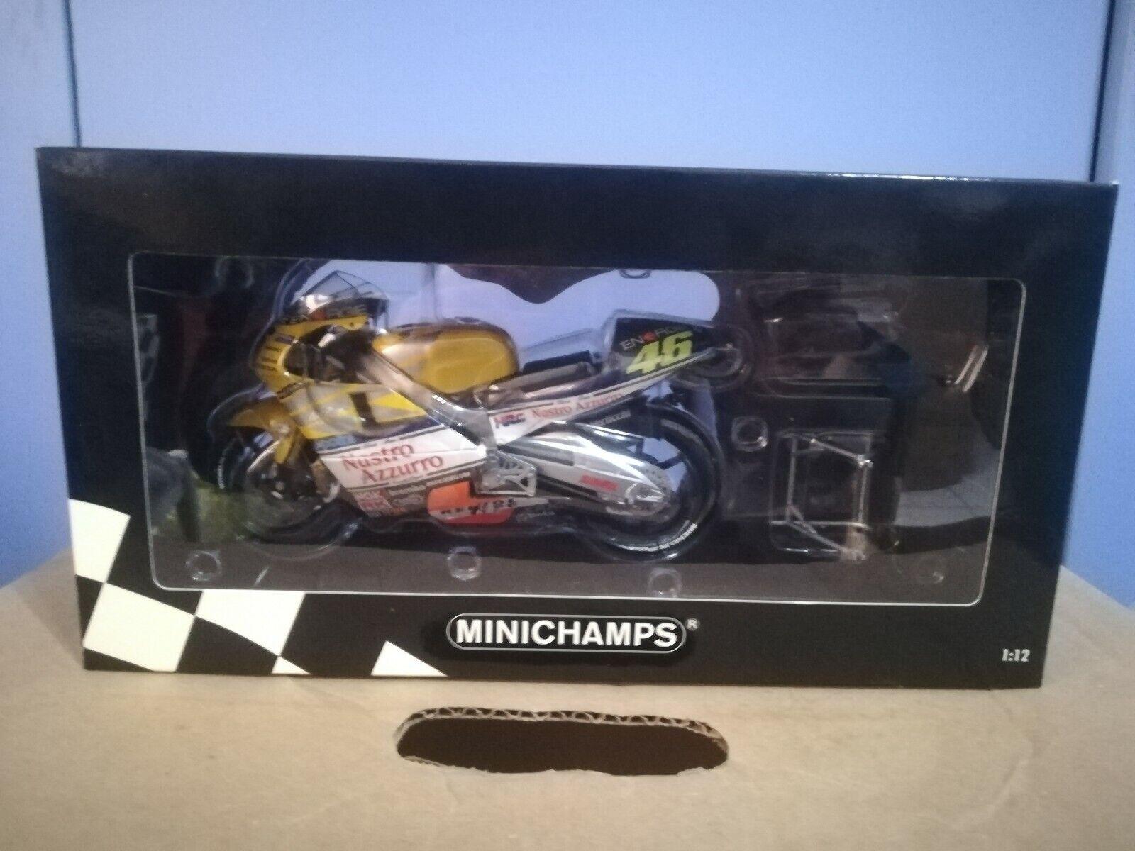 1 12 Minichamps Valentino Rossi 2001 Honda Nsr