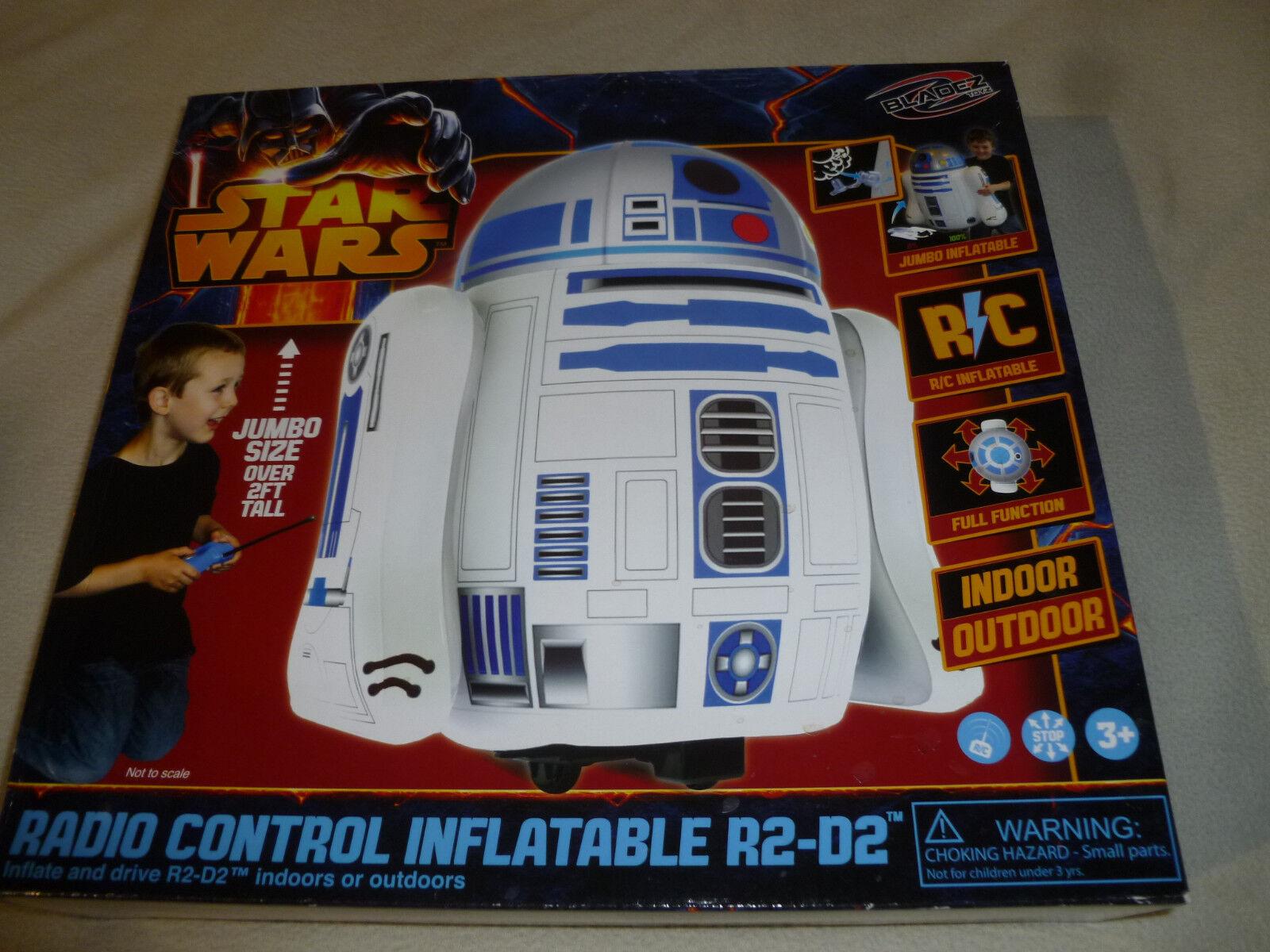 NEW IN BOX STAR WARS JUMBO RADIO CONTROL INFLATABLE R2D2 BLADEZ TOYZ RC REMOTE