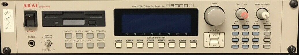 Akai s3000xl Digital Stereo Sampler