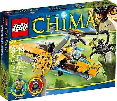 LEGO Legends Of CHIMA 70129 Lavertus' Twin Blade  Set New In Box