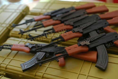 """Ak47 assault rifle Weapon Gun For 1//6 Scale12/"""" Action Figure 1:6 Model Toy"""