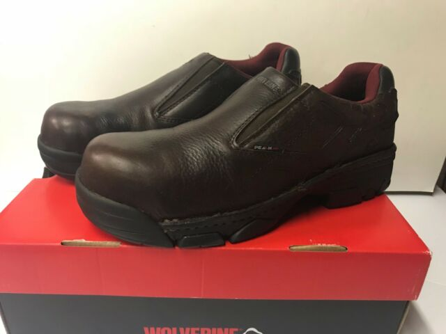 Wolverine Men/'s Falcon Slip-On Comp Toe EH Work Boot