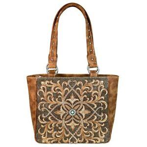 Montana-West-Canvas-Purse-Western-Country-Cowgirl-Designer-Boot-Scroll-Handbag