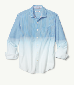 Fadeaway Tommy Blue Beach Bahama t318625 Canal Shirt 125 TTnZ5qwr