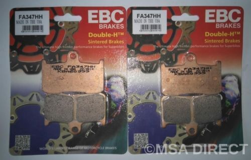 Triumph Speed Triple 1050 (05 to 06) EBC FRONT Sintered Brake Pads (FA347HH x 2)