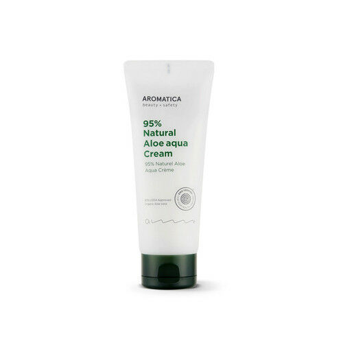 [Aromatica] 95% Natural Aloe Aqua Cream 150g