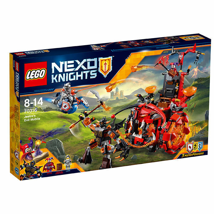 LEGO ® 70316 Nexo Knights ™ jestros engin des ténèbres Nouveau Neuf dans sa boîte